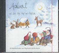 Cover-Bild zu Jakobi-Murer, Stephanie: Advent mit Zipf, Zapf, Zepf und Zipfelwitz. CD