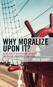 Cover-Bild zu eBook Why Moralize upon It?
