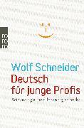 Cover-Bild zu Deutsch für junge Profis von Schneider, Wolf