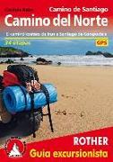 Cover-Bild zu Camino de Santiago - Camino del Norte (spanische Ausgabe) von Rabe, Cordula