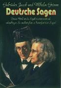 Cover-Bild zu Deutsche Sagen (eBook) von Grimm, Jacob und Wilhelm