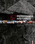 Cover-Bild zu 57 personnes - 57 histoires von Bühler-Rasom, Markus (Fotogr.)