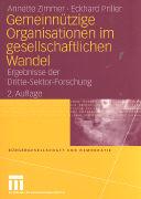 Cover-Bild zu Gemeinnützige Organisationen im gesellschaftlichen Wandel