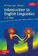 Cover-Bild zu Introduction to English Linguistics von Becker, Annette