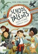 Cover-Bild zu Schellhammer, Silke: School of Talents 1: Erste Stunde: Tierisch laut! (eBook)