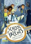 Cover-Bild zu Schellhammer, Silke: School of Talents 2: Zweite Stunde: Stromausfall! (eBook)