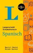 Cover-Bild zu Langenscheidt Schulwörterbuch Spanisch