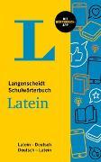 Cover-Bild zu Langenscheidt Schulwörterbuch Latein