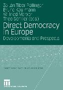 Cover-Bild zu Direct Democracy in Europe (eBook) von Pállinger, Zoltán Tibor (Hrsg.)