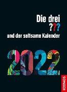 Cover-Bild zu Die drei ??? und der seltsame Kalender 2022