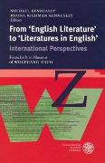 Cover-Bild zu Kenneally, Michael (Hrsg.): From 'English Literature' to 'Literatures in English'