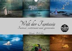 Cover-Bild zu Di Chito, Ursula: Welt der Fantasie - Surreal, verträumt und grenzenlos (Wandkalender 2021 DIN A3 quer)