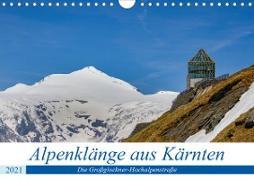 Cover-Bild zu Di Chito, Ursula: Alpenklänge aus Kärnten - AT Version (Wandkalender 2021 DIN A4 quer)