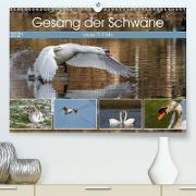 Cover-Bild zu Di Chito, Ursula: Gesang der Schwäne (Premium, hochwertiger DIN A2 Wandkalender 2021, Kunstdruck in Hochglanz)