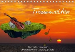 Cover-Bild zu Di Chito, Ursula: Traumwelten (Tischkalender 2021 DIN A5 quer)