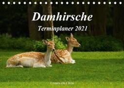 Cover-Bild zu Di Chito, Ursula: Damhirsche (Tischkalender 2021 DIN A5 quer)