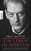 Cover-Bild zu Auster, Paul: Ein Leben in Worten