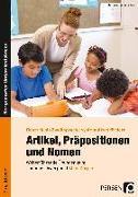 Cover-Bild zu Artikel, Präpositionen und Nomen - Mein Körper 3/4 von Entradas, Marie-Anne
