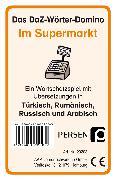 Cover-Bild zu Das DaZ-Wörter-Domino: Im Supermarkt von Kirschbaum, Klara