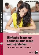 Cover-Bild zu Einfache Texte zur Landeskunde lesen und verstehen von Jaglarz, Barbara