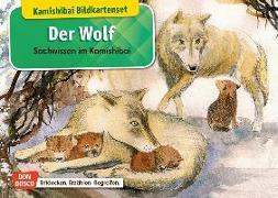 Cover-Bild zu Der Wolf. Kamishibai Bildkartenset von Stöckl-Bauer, Katharina