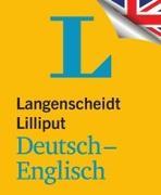 Cover-Bild zu Langenscheidt, Redaktion (Hrsg.): Langenscheidt Lilliput Deutsch-Englisch - im Mini-Format
