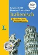 """Cover-Bild zu Langenscheidt, Redaktion (Hrsg.): Langenscheidt Universal-Sprachführer Italienisch - Buch inklusive E-Book zum Thema """"Essen & Trinken"""""""