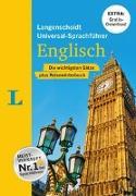 """Cover-Bild zu Langenscheidt, Redaktion (Hrsg.): Langenscheidt Universal-Sprachführer Englisch - Buch inklusive E-Book zum Thema """"Essen & Trinken"""""""