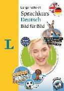 Cover-Bild zu Obergfell, Christoph: Langenscheidt Sprachkurs Deutsch Bild für Bild - Der visuelle Kurs für den leichten Einstieg mit Buch und einer MP3-CD