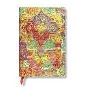 Cover-Bild zu Brokatpapier Südliche Wildblume Mini liniert