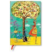 Cover-Bild zu Mila-Marquis-Kollektion Herbstäpfel Midi liniert.