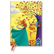Cover-Bild zu Mila-Marquis-Kollektion Herbstlaub Midi liniert.