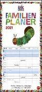 Cover-Bild zu Carle, Eric: Die kleine Raupe Nimmersatt Familienplaner Kalender 2021