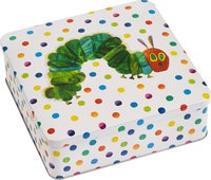 Cover-Bild zu Carle, Eric: Die kleine Raupe Nimmersatt - Geschenkdose