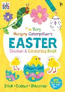 Cover-Bild zu Carle, Eric: The Very Hungry Caterpillar's Easter Sticker and Colouring Book