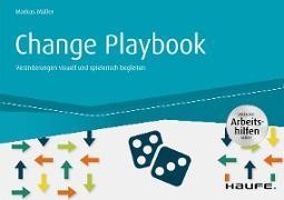 Cover-Bild zu Change Playbook - inkl. Arbeitshilfen online (eBook) von Müller, Markus