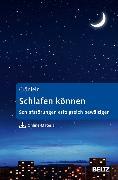 Cover-Bild zu Schlafen können (eBook) von Crönlein, Tatjana