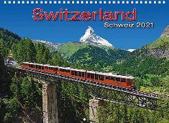 Cover-Bild zu Cal. Switzerland - 315 x 230 mm 2021 Ft. 30,5x30,5