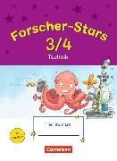 Cover-Bild zu Forscher-Stars 3./4. Schuljahr. Technik. Übungsheft mit Lösungen von Buntrock, Monika