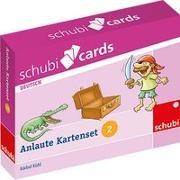 Cover-Bild zu Schubicards Anlaute Kartensets 2 von Wächter, Linda