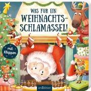 Cover-Bild zu Was für ein Weihnachtsschlamassel! von Gertenbach, Pina (Illustr.)