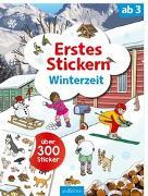 Cover-Bild zu Erstes Stickern Winterzeit von Coenen, Sebastian (Illustr.)
