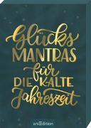 Cover-Bild zu Glücksmantras für die kalte Jahreszeit von Magunia, Carolin (Illustr.)