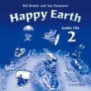 Cover-Bild zu Level 2: Happy Earth 2: Audio CDs (2) - Happy Earth von Bowler, Bill