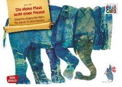 Cover-Bild zu Die kleine Maus sucht einen Freund. Kamishibai Bildkartenset von Carle, Eric