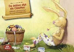 Cover-Bild zu Da drüben sitzt ein Osterhas. Kamishibai Bildkartenset von Fell, Helga