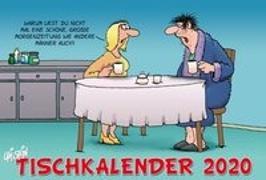 Cover-Bild zu Uli Stein Tischkalender 2020 von Stein, Uli