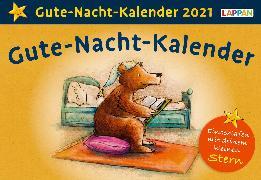 Cover-Bild zu Gute-Nacht-Kalender 2021: Tageskalender für Kinder mit Geschichten und Einschlafritualen von Golze, Lisa