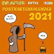 Cover-Bild zu Shit happens! Postkartenkalender 2021 von Ruthe, Ralph