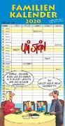 Cover-Bild zu Uli Stein Familienkalender 2020 von Stein, Uli